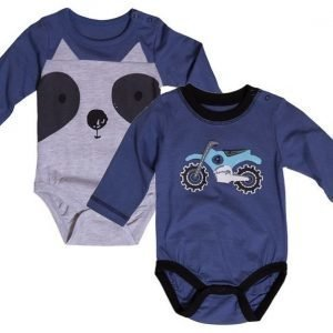 Max Collection Body 2 kpl Grey/Blue