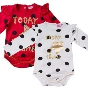 Max Collection Body 2 kpl Red/white