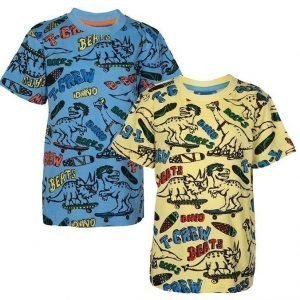 Max Collection T-paita 2 kpl Kuviollinen
