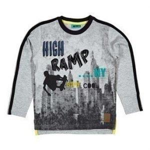 Me Too T-paita Agit  Mel. harmaa