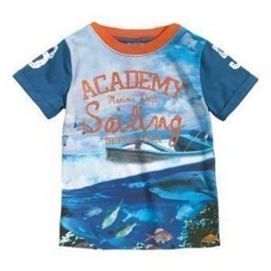 Me Too T-paita Frank Sininen Kuvioitu