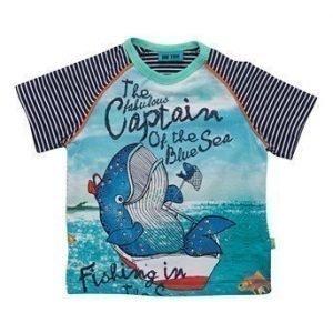 Me Too T-paita Frej mini Laivastonsininen Kuvioitu
