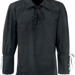 Medieval Laced Shirt Kauluspaita