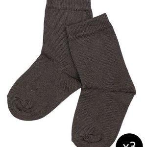 Melton laadukkaat sukat 3-pakk
