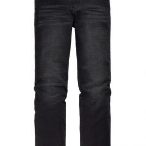 Men Plus Housut Black Stone Washed