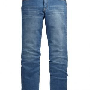 Men Plus Housut Blue Stone Washed
