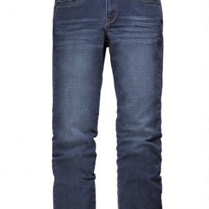 Men Plus Housut Dark Blue Washed