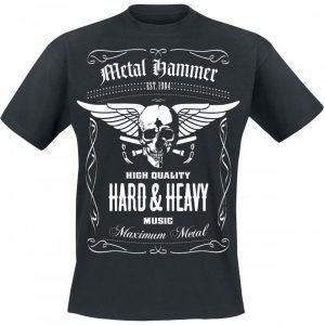 Metal Hammer Hard & Heavy T-paita