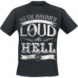 Metal Hammer Loud As Hell T-paita
