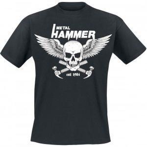Metal Hammer New Skull T-paita