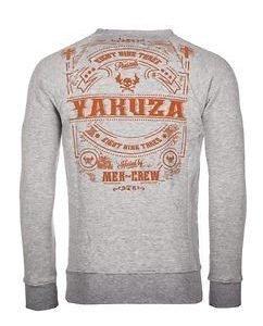 Mex-Crew Sweater Grey Melange