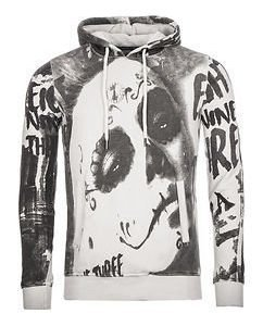 Mexican Allover Hoodie White