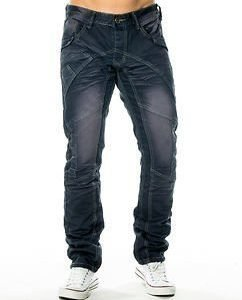 Micah Dark Grey Wash Denim