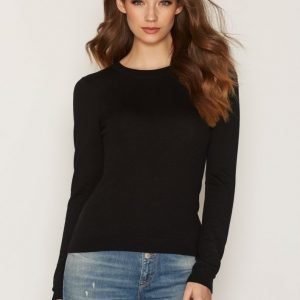 Michael Kors Crss Scoop Back Ls Sweat Neulepusero Black