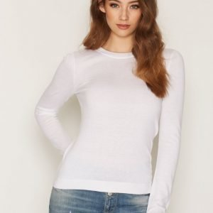 Michael Kors Crss Scoop Back Ls Sweat Neulepusero White