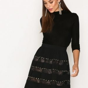 Michael Kors Lace Skirt Minihame Black