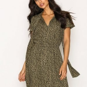 Michael Kors Mini Finley S / S Dress Loose Fit Mekko Green