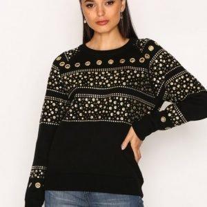 Michael Kors Stud Sweatshirt Neulepusero Black / Gold