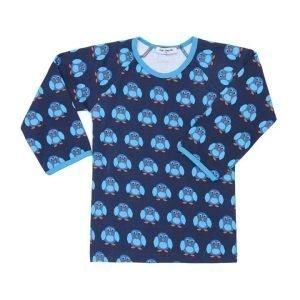Mini Cirkus Penguin pitkähihainen T-paita