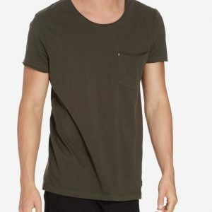 Minimum Bradley tee T-paita Army