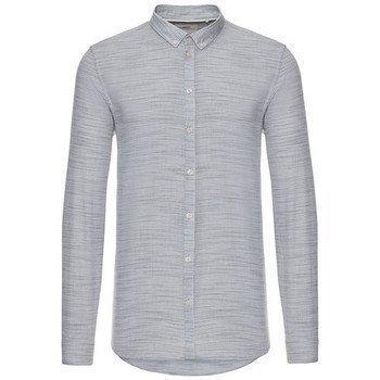 Minimum Crescent kauluspaita pitkähihainen paitapusero