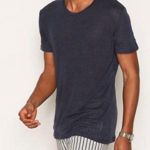 Minimum Declan T-shirt T-paita Dark Navy
