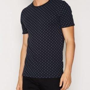 Minimum Delta T-shirt T-paita Dark Navy