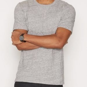 Minimum Delta T-shirt T-paita Light Grey Melange