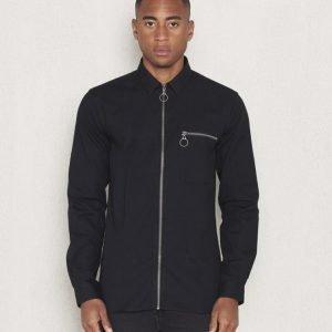 Minimum Drossel Shirt 999 Black