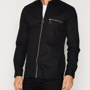 Minimum Drossel Shirt Pusero Black