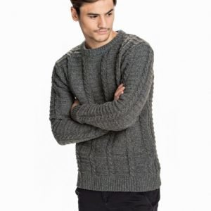 Minimum Fairview Knit Pusero Grey Melange