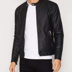 Minimum Farman Jacket Takki Jet Black