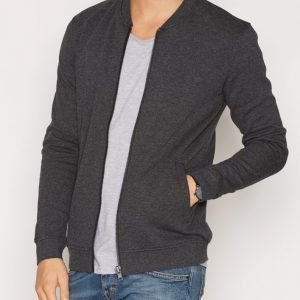 Minimum Garton Sweatshirt Pusero Dark Grey Melange