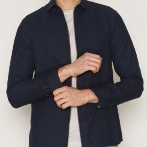 Minimum Halki Shirt Kauluspaita Dark Navy