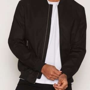 Minimum Hank Jacket Takki Black