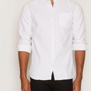 Minimum Nacka Shirt Kauluspaita White