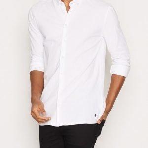 Minimum Stuart Shirt Kauluspaita White