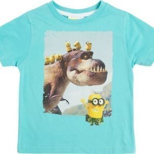 Minions Despicable Me T-paita Light blue