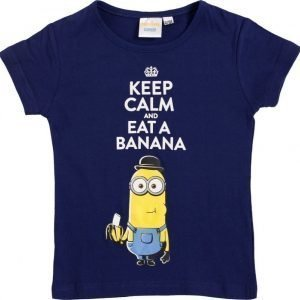 Minions Despicable me Pusero Dark blue