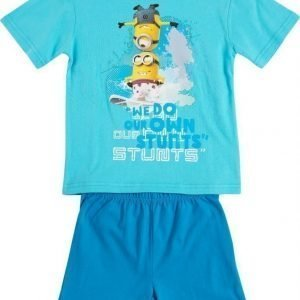 Minions Despicable me Pyjama Light blue/Dark