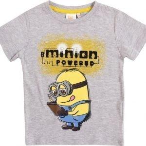 Minions Despicable me T-paita Melange grey