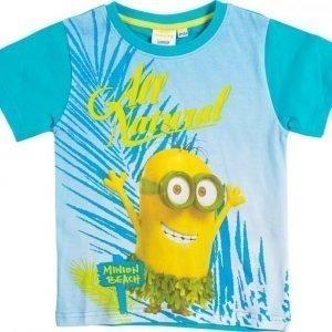 Minions Despicable me T-paita Turquoise