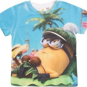 Minions Despicable me T-paita White/Multi