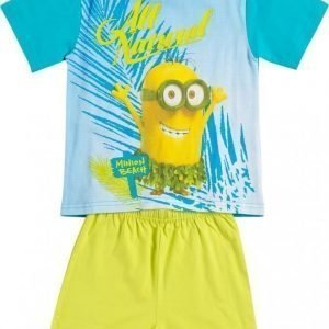 Minions Despicable me Yöpuku Lime green