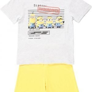 Minions Despicable me Yöpuku Melange grey/Yellow