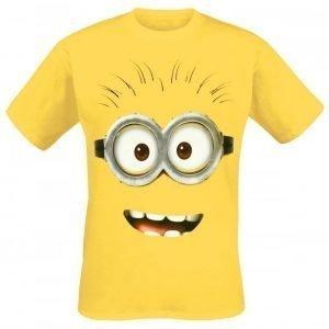 Minions Goggle Face T-paita