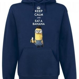 Minions Keep Calm And Eat A Banana Huppari