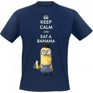 Minions Keep Calm And Eat A Banana T-paita