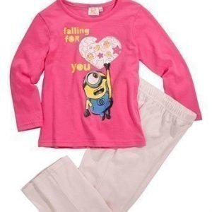 Minions Pyjama Kirsikka Roosa