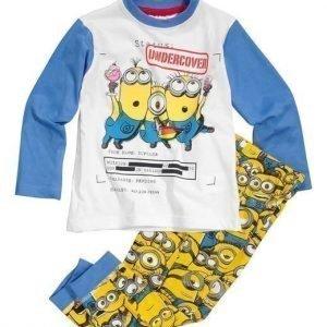 Minions Pyjama Sininen Kuvioitu